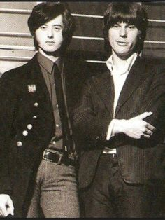 Jimmy Page & Jeff Beck The Yardbirds Long Time Friends!