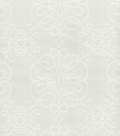 Upholstery Fabric- HGTV Home Nostalgic Verse Fog