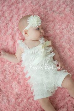 9a38d8b088a Baby Boutique Clothes - Baby Swing Top Clothes - Birthday Outfits for  Infants and Toddler. baby petti lace romper. Princess Bowtique