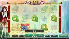 Spelautomater Koi Princess - Koi Princess är en väldigt innehållsrik spelautomat med en hög bonusfunktioner som ser till att det inte blir en lugn stund när man spelar! Massvis av olika freespins-spel kan vinnas och detta är givetvis extra spännande.