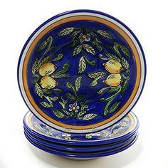 Le Souk Ceramique Pasta/Salad Bowls, Set of 4) Citronique Design Le Souk Ceramique http://www.amazon.com/dp/B0064RWS9O/ref=cm_sw_r_pi_dp_8V4Eub0Y28X44
