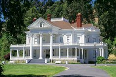 "Dunsmuir House and Gardens, Oakland, CA.  Also used in the movies  ""Phantasm"" and ""Burnt Offerings"".  I visited this house many times as a child.  Beautiful mansion and grounds."
