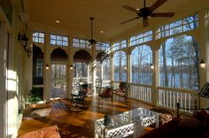 Cozy Porch | Sunrooms and Porches | Inspiration Gallery | renovateyourworld.com