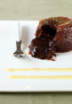 Molten Chocolate Cake...calling all chocoholics!