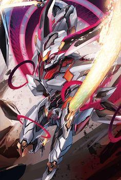 落日の星輝兵 ダームスタチウム Robot Concept Art, Armor Concept, Robot Art, Gundam, Character Art, Character Design, Robots Characters, Accel World, Cool Robots