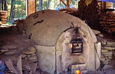 Jody Johnstone's anagama kiln, Swanville, ME This kiln was dismantled for a new one being constructed by Donovan Palmquist in 2014.
