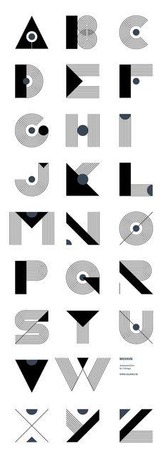 Moshun typeface.