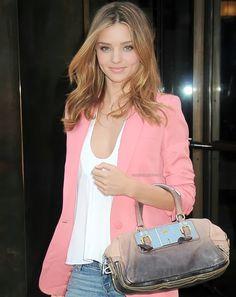 pink blazer!