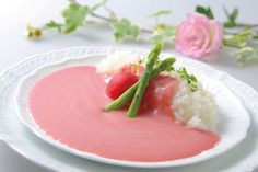Pink Japanese Curry with Beetroot from Tottori prefecture!