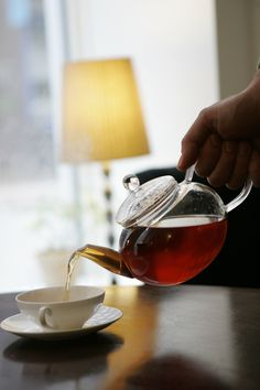 Go to Torvehallerne and visit the stand of Tante T - a great shop where you will find a great variety of teas - even those that unfolds into a flower once inside a cup of hot water!