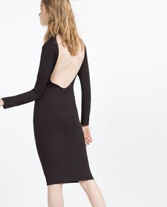 Image 5 of DRESS WITH LOW-CUT BACK from Zara