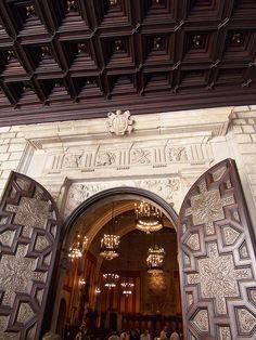 Ajuntament de Barcelona (Entrada al Saló de Cent), Catalonia.