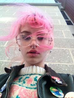 Learn about the rainbow hair trend at girl-gang.weebly.com