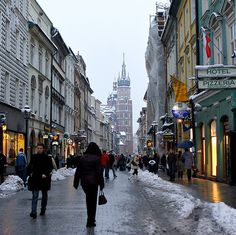 Krakow, Poland. Full of history, friendly people, great food, romance. Went in winter and loved it.