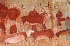 peintures rupestres d'Afrique