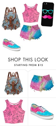 """""""Luiza"""" by gabiesteves ❤ liked on Polyvore featuring Civil, Vans and Casetify"""