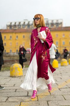 Best Milan Fashion Week Street Style Fall 2016 - Milan Street Style