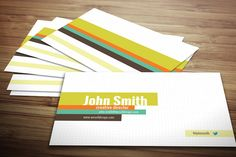 Dotted Business Card by Crazyleaf on @creativemarket