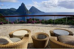 Jade Mountain is a hillside resort with modern furnishings and killer views. At this property boutique Manhattan meets paradise.