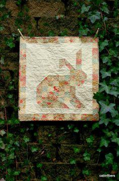Cabin Fibers: Bunny Quilt