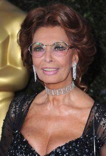Sophia Loren at age 77