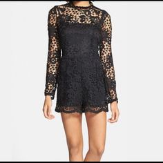 Pre owned Charlie Jade Lace Romper Pre owned Charlie Jade Romper. Used only once. Still in excellent condition Charlie Jade Other