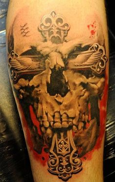 skulls, tattoo ideas for men, inked men, tattooed men, inked guys, tattoo ideas, cool tattoos, tattoo inspiration.