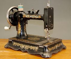 Fine Antique New National Sewing Machine C1890 | eBay