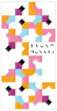 Bruno Munari Exhibition on Behance, by Fabio Giorgi