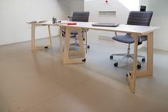 The Karya Coworking Desk by PlayWood on Behance