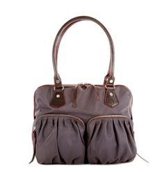 The best airline travel bag!  Easy to clean, lots of pockets.  Would make great diaper bag too!