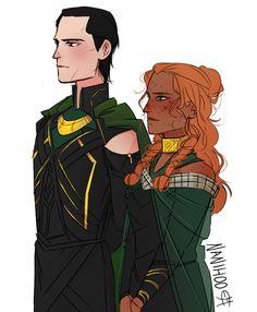 Loki and Sigyn Loki Thor, Loki Und Sigyn, Loki Art, Loki Marvel, Loki Laufeyson, Tom Hiddleston Loki, Marvel Dc Comics, Avengers, Percy Jackson