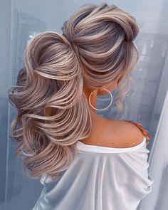 30 Vintage Wedding Hairstyles Old School Ideas ❤ vintage wedding hairstyles long blonde ponytail volume olga_nikiforova_hair #weddingforward #wedding #bride #vintageweddinghairstyles #weddinghair