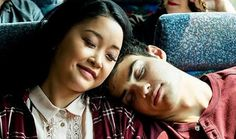 The growth from fake relationship to genuine relationship between Lara Jean and Peter symbolizes the growth and deepness found in Elizabeth and John's relationship. Lara Jean, Julia Stiles, Cute Couples Goals, Couple Goals, Love Movie, Movie Tv, Films Netflix, Jean Peters, Movie Couples