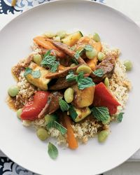 Moroccan Lamb and Vegetable Couscous Recipe