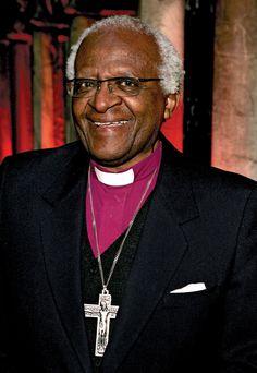 Famous Xhosa people: Archbishop Desmond Tutu (and Nelson Mandela)