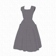 Summer Dress Pattern by VanBor.nl