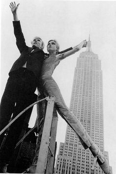 Andy Warhol and Edie Sedgwick, 1965