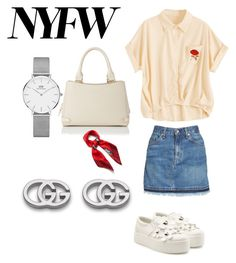 """""""Untitled #31"""" by gabriela-agredo on Polyvore featuring rag & bone/JEAN, Marc Jacobs, L.K.Bennett, Mulberry, Daniel Wellington and Gucci"""