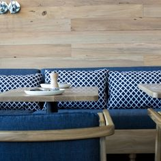 Odettes brings a slice of Eastern Mediterranean chic to City Works Depot with well-seasoned restaurateurs Clare and Joost van den Berg at the helm. Outdoor Furniture, Outdoor Decor, Couch, Furniture, Outdoor Sofa, New Homes, Home Decor, Dining, Restaurant