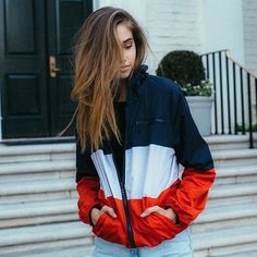 #brandyusa Krissy Windbreaker Jacket