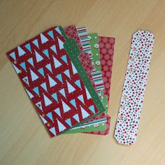Personal Filofax dividers set of 6 Christmas by JustKeepPinning