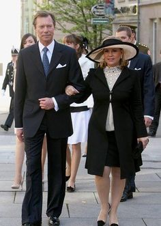 Grand Duchess Maria Teresa and Grand Duke Henri of Luxembourg Nassau, Gabriel, Maria Teresa, Joseph, How To Be Graceful, Grand Duke, Royal House, Celebrities, My Style