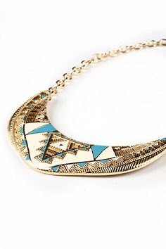 Egypt Glider Necklace | Trendy Accessories at Pink Ice