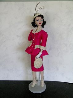 "Meet Me in Paris by fine Flickr photographer ""Anne in Scottsdale""  Gene Marshall doll, by Ashton-Drake"