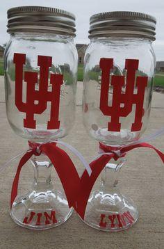 University Of Houston Redneck Wine Glass  Show by SoBadorable, $12.50