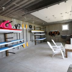 Kayak and board storage hangers