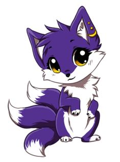 Chibi commission for I hope you like it Character(c)Cobalt-Flame art(c)Yechii Do not use in any way. Only for commissioner. Pet Anime, Anime Animals, Cute Animals, Cute Animal Drawings, Kawaii Drawings, Cute Drawings, Wolf Drawings, Anime Wolf Drawing, Cute Fantasy Creatures