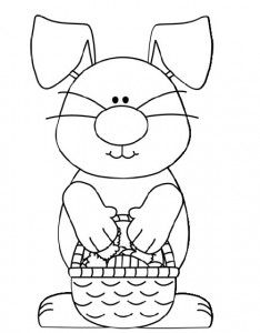This Page Has A Lot Of Free Printable Easter Bunny Coloring For Kids
