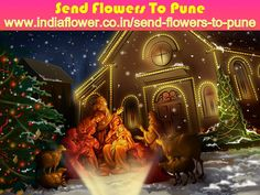 In This Happy Christmas Day Everybody Can Send Flowers, Sweets, Dry Fruits, Toys And So Many Products to Your Family By This Website  http://www.indiaflower.co.in/send-flowers-to-pune